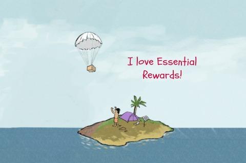 island graphic essential rewards