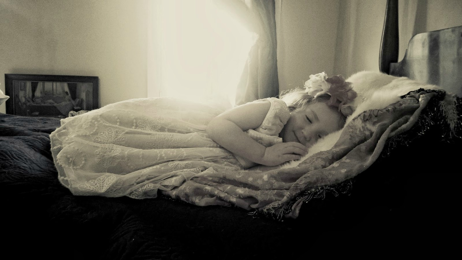 Lilyana Sleeping