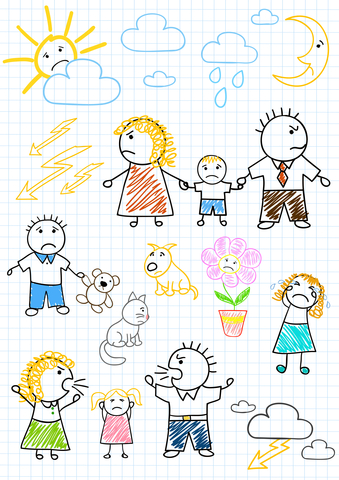 http://www.dreamstime.com/stock-photography-conflicts-family-image23684022